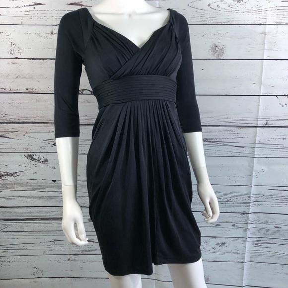 dcd5b14cae7 Catherine McLandrio Black Fit   Flare Dress New